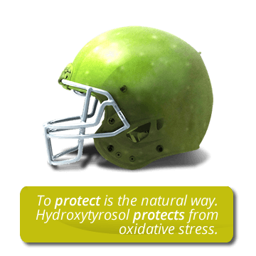 To protect is the natural way. Hydroxytyrosol protects from oxidative stress
